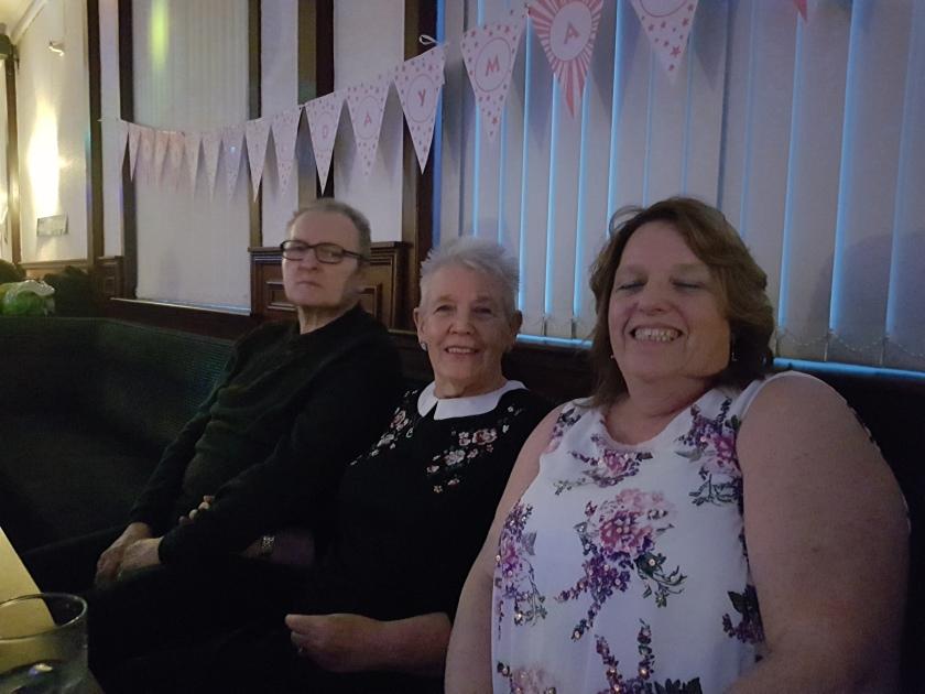 Robert , Sandra & Carolyn